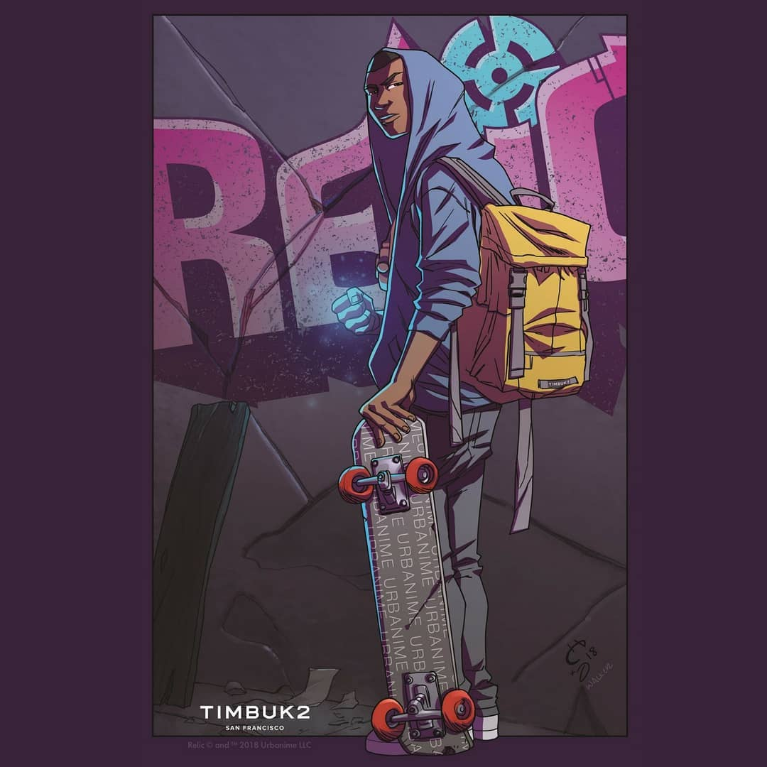 Image result for Timbuk2 Relic comic book