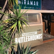 The PUBG Party transformed a space into a battle field!